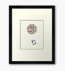 Float In The Air Framed Print