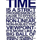 DOCTOR WHO TYPOGRAPHY T Shirt Doc Dr BBC Tardis Time Dalek New Tenth Timey Wimey by beardburger