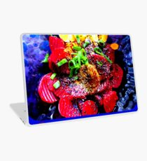 Vegan Beetroot and Orange Salad Laptop Skin