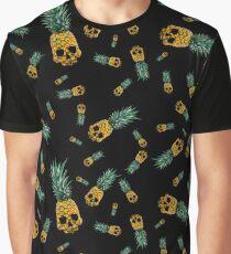 Pineapple Skull B Graphic T-Shirt