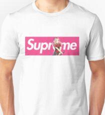 Sakura Naruto x Supreme Parody Collab Big Box Logo Pink Unisex T-Shirt