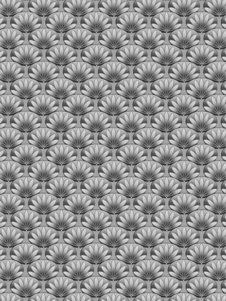 Fan Floral Pattern by Lafara