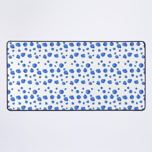 Blueberry Pattern Desk Mat