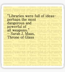 Libraries  Sticker