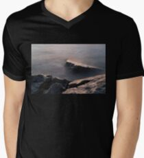 Rough and Soft - Rocks on the Beach at Sunrise T-Shirt