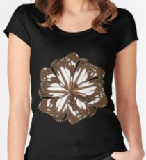 Wing mill - butterfly wings 8 Women's Fitted Scoop T-Shirt
