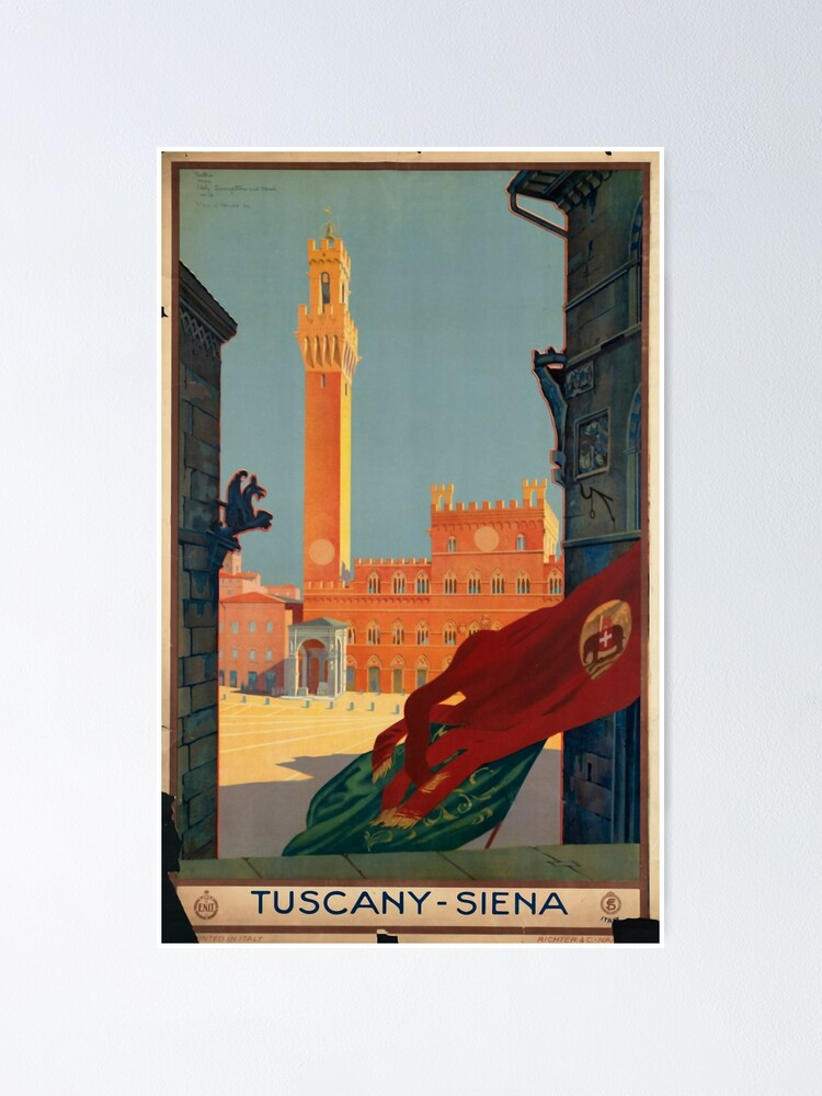 Alternate view of Tuscany Poster