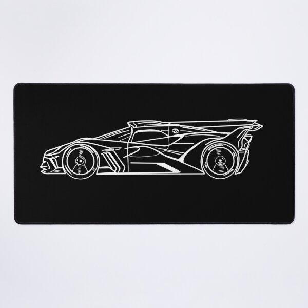 Bugatti Bolide supercar Desk Mat