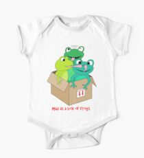 mad as a box of frogs One Piece - Short Sleeve
