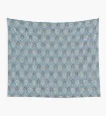 Blue plant texture Wall Tapestry