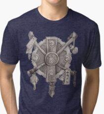 Monk crest Tri-blend T-Shirt