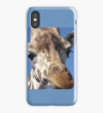 Giraffe selfie iPhone Case/Skin