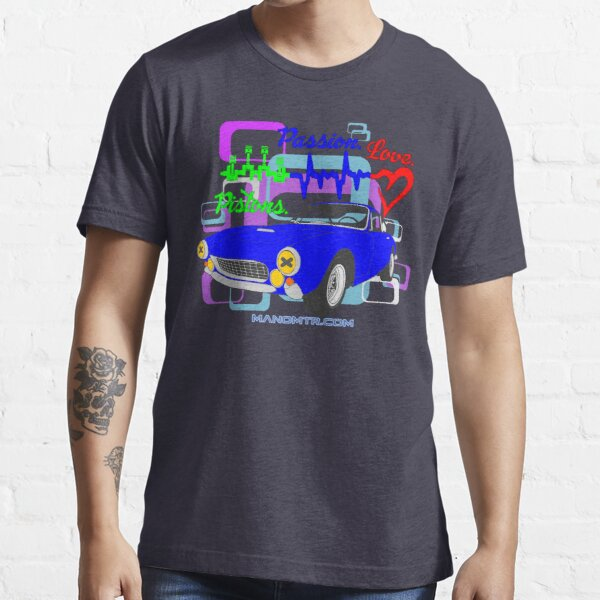 pistons passion love F250Lusso Essential T-Shirt