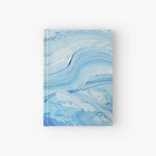 Blue Impasto Hardcover Journal