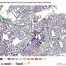 Multiple Deprivation Camberwell Green ward, Southwark by ianturton