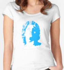 aesthetic sculpture Women's Fitted Scoop T-Shirt