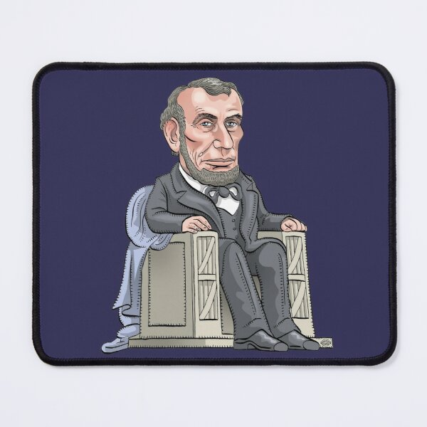 President Abraham Lincoln Mouse Pad