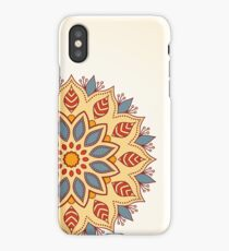 Ornamental mandala. Stylish geometric pattern in oriental style.  iPhone Case/Skin