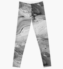 Monochrome Impasto Leggings