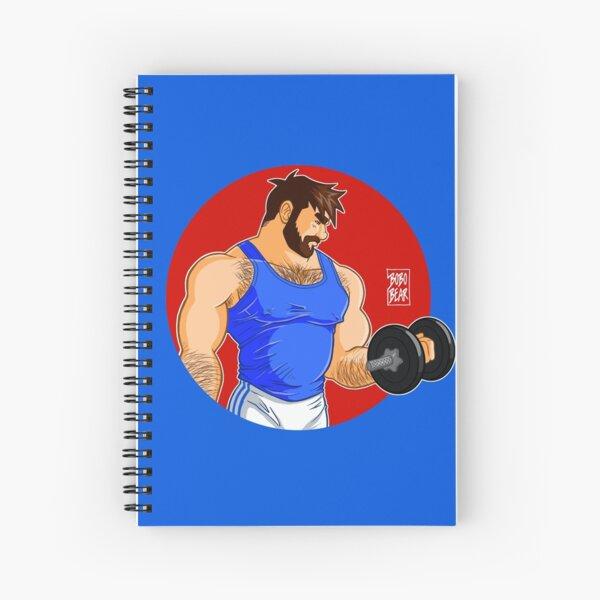 ADAM LIKES WORKINGOUT Spiral Notebook