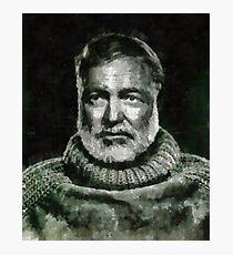 Ernest Hemingway Author Photographic Print