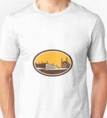 King's College University of Cambridge Woodcut Unisex T-Shirt