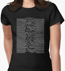 joy division Women's Fitted T-Shirt