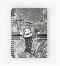polo bw helmet stick (cpc) Spiral Notebook