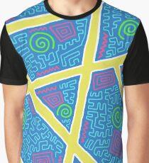 Weird Pattern Graphic T-Shirt