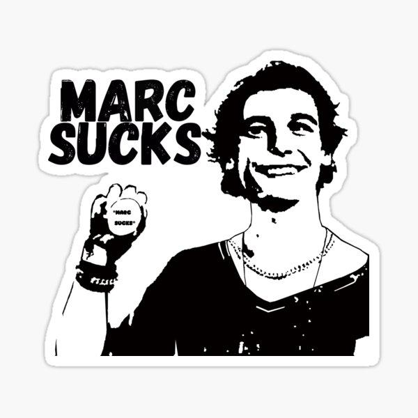 Empire Records Marc Sucks Sticker