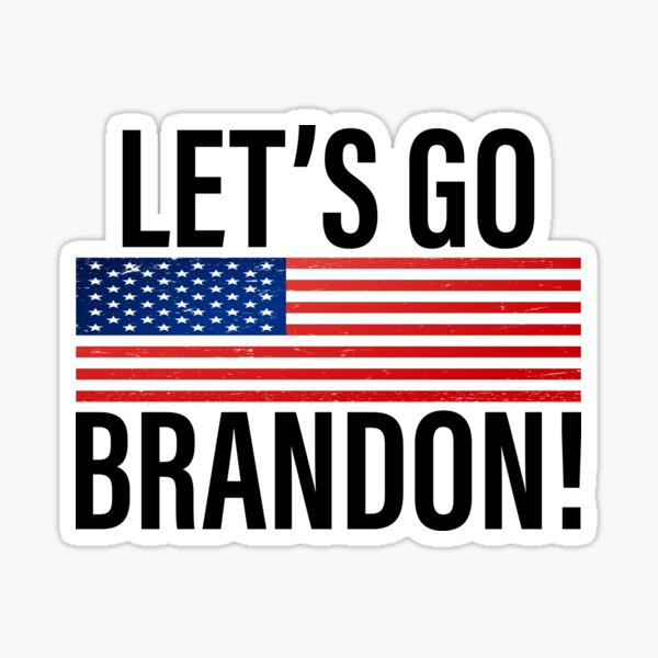 Let's Go Brandon  Sticker
