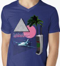 BUSINESS CLASS '84 KOLLEKTION T-Shirt mit V-Ausschnitt