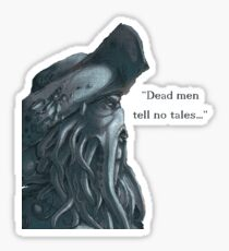 Davy Jones Pirates of the Caribbean Sticker