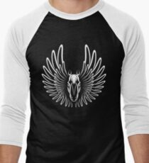 Pegaso (White on Dark version) Men's Baseball ¾ T-Shirt
