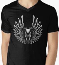 Pegaso (White on Dark version) Men's V-Neck T-Shirt