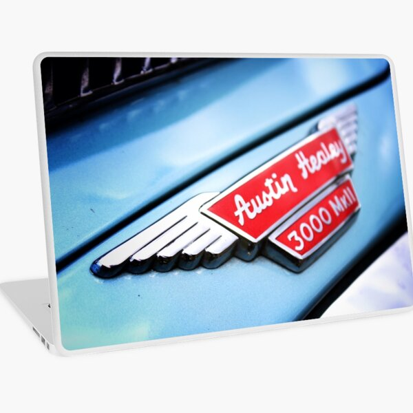 Austin Healey Classic Car Badge Laptop Skin