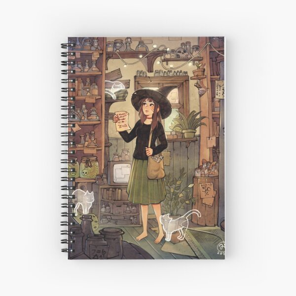 Potions shop Spiral Notebook