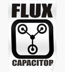 FLUX CAPACITOR TSHIRT Funny BACK TO THE FUTURE TEE Humor 80s DOC BROWN Marty VTG Poster