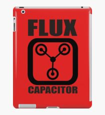 FLUX CAPACITOR TSHIRT Funny BACK TO THE FUTURE TEE Humor 80s DOC BROWN Marty VTG iPad Case/Skin