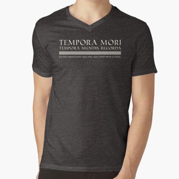 Kaamelott - Roi Loth (blanc) T-shirt col V