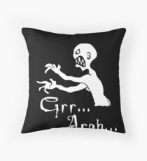 Grr... Argh... Throw Pillow