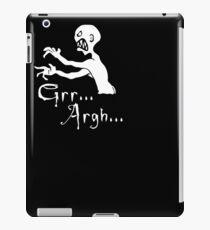 Grr... Argh... iPad Case/Skin