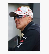 Michael Schumacher 2011 Photographic Print