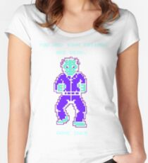 JASON FRIDAY THE 13TH 8-BIT NES Women's Fitted Scoop T-Shirt