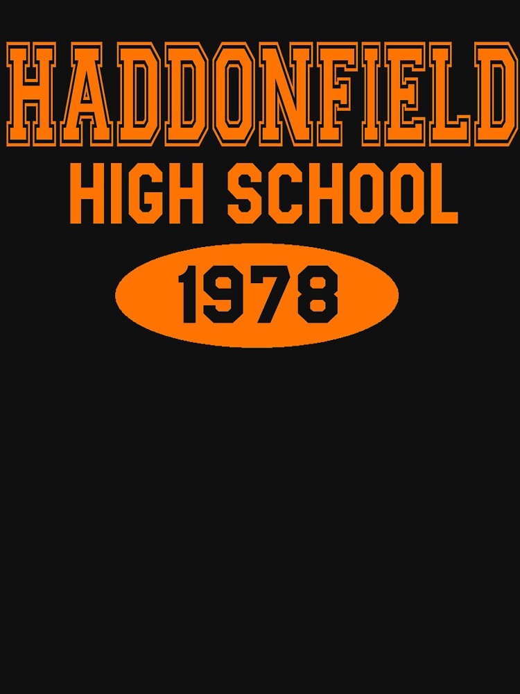Haddonfield High School 1978 by movie-shirts