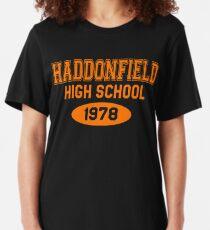 Haddonfield Gymnasium 1978 Slim Fit T-Shirt