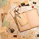 Vintage letters and postcards 1 by creativelolo