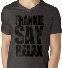 FRANKIE SAY RELAX T-Shirt Funny Retro Soft GOES TO HOLLYWOOD 80s Music Tee T-Shirt