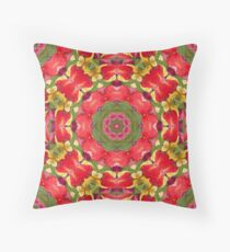 Holiday Tulip Bliss #7 Throw Pillow