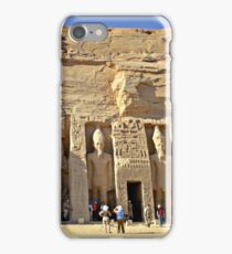 Abu Simbel - Historical site in Egypt iPhone Case/Skin